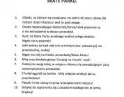 10 Zasad korzystania ze skateparku.