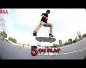 5 On Flat With Carlos Ribeiro