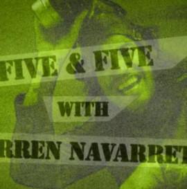 5 Questions & 5 Tricks with Darren Navarrette