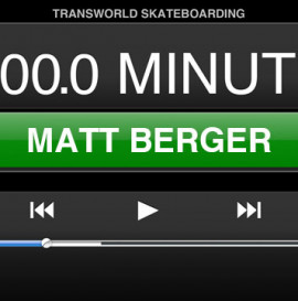 60 MINUTES IN THE PARK: MATT BERGER
