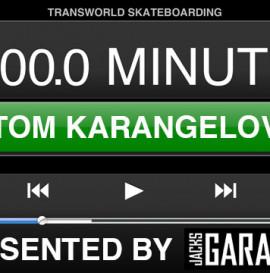 60 Minutes In The Park presented by Jack's Garage: Tom Karangelov