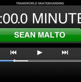 60 Minutes In The Park: Sean Malto
