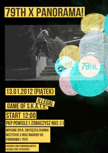 79TH. i Panorama ILLEGAL game of S.K.A.T.E