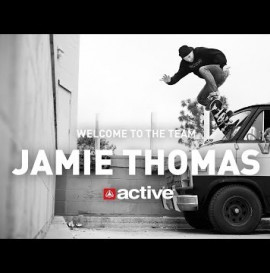 ACTIVE - WELCOME TO THE TEAM JAMIE THOMAS!
