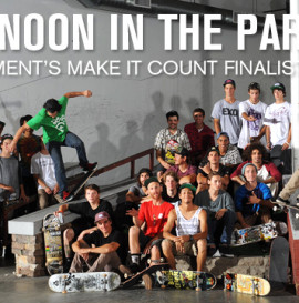 Afternoon In The Park: Element Make It Count Finalists