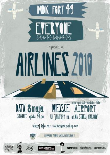 Airlines 2010 - plakat