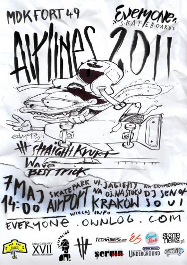 Airlines 2011 - 7 maj Kraków, Nowa Huta