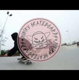 Albert Azjan - One day at the SWAJ skatepark!!! Nibiru Skateboards Workshop