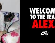 Alex Olson w Nike SB