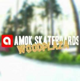 AMOK skateboards na Woodplazie