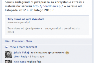 Andegrand vs Boardnews? WTF nie wierzę w to…