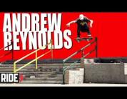 Andrew Reynolds Frontside Flip in Slow Motion