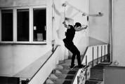 Andrzej Podsiadło - frontside boardslide