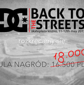 Back To The Streets  - kolejne info