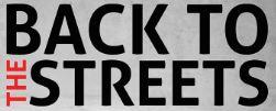 Back To The Streets - oficjalny plakat.
