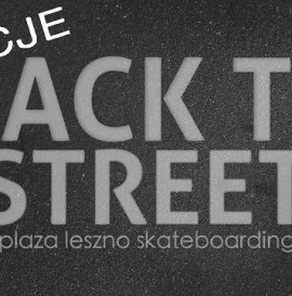 Back To The Streets - Sekcje