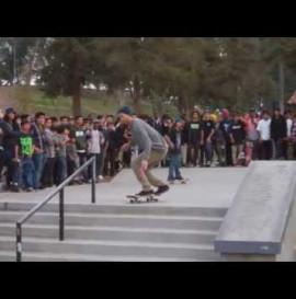 Baker Skateboards Christmas Demo at Lincoln plaza 2011
