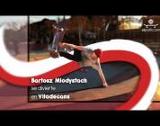 Bartosz Młodystach se divierte en Viladecans (Barcelona)