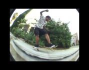 Bastien Salabanzi skateboarding around LA