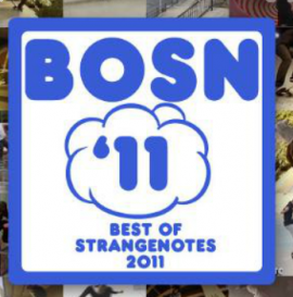 Best Of Strangenotes 2011