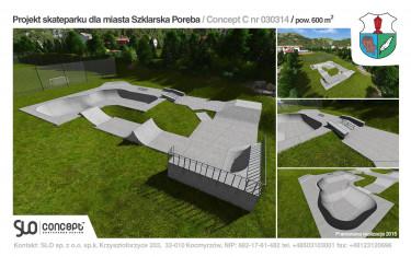 Betonowy skatepark w Szklarskiej Porębie.