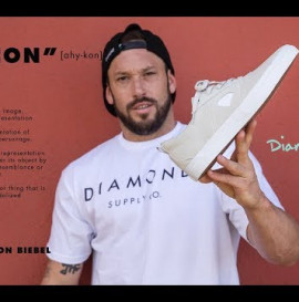 "Brandon Biebel Diamond Footwear ""ICON Part"""