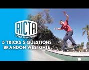 Brandon Westgate: Ricta Wheels 5 & 5