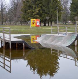 Chełm. Zatopiony skatepark