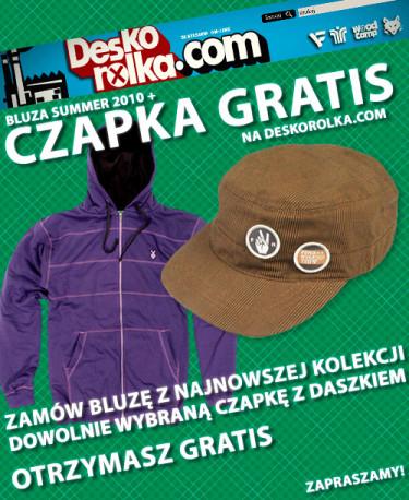 Chroń swoją głowę przed wiosennym słońcem z deskorolka.com !!!