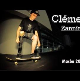 Clément Zannini - Skateboarding at Macba