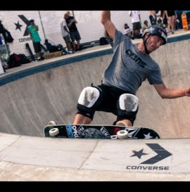 Converse and Thrasher at Chelsea SkatePark