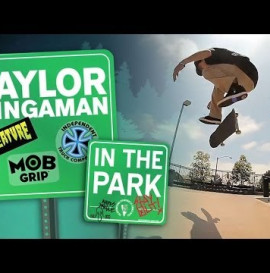 Creature Skateboards In The Park With Taylor Bingaman