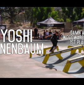 DAMN AM WOODWARD WEST FINALS 2015 – 1ST PLACE YOSHI TANENBAUM – RAW FOOTAGE
