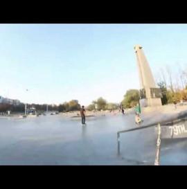 Dawid Rykowski skatepark montage