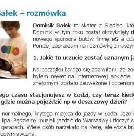 Dominik Gałek – rozmówka na Free Mind
