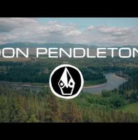 Don Pendleton in Montana w/Volcom Skate Team & Pearl Jam's Jeff Ament