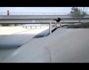 EPIC TRICKS: David Gonzalez Kickflips into a Mountain