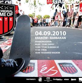 Es Game of Skate - 4 września w Krakowie !!!