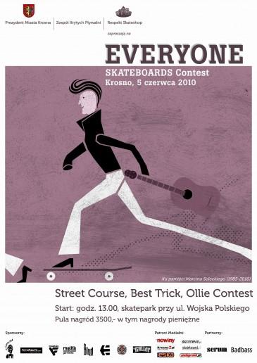 Everyone Skateboard Contest - wyniki zawodów