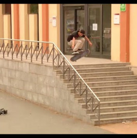 Fallen Footwear Spain. Javier Suárez Welcome Clip