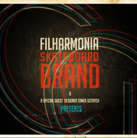 "Filharmonia Skateboards ""Couleur Design"""