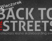 Filip Wieczorek zaprasza na Back To The Streets
