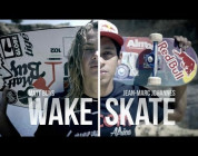 Game of S.K.A.T.E. - Wakeskate vs. Skateboard