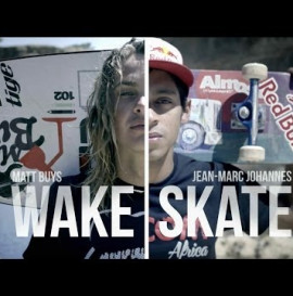 Game of S.K.A.T.E. - Wakeskate vs. Skateboard