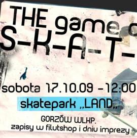 GAME OF SKATE, Gorzów Wielkopolski