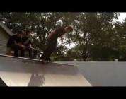 Getz Backyard Ramp Session