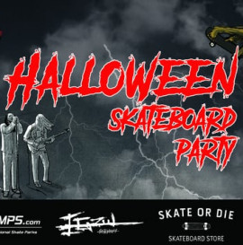 † Halloween † Skateboard Party †