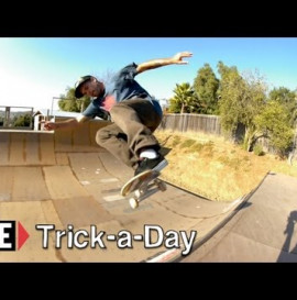 How-To Full Cab on a Mini Ramp with Kyle Berard -Trick-a-Day