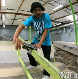 How To: Noseblunt-slides With Chaz Ortiz