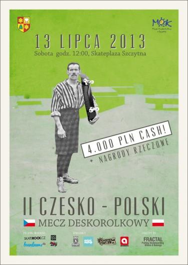 II Czesko-Polski Mecz Deskorolkowy - wyniki.